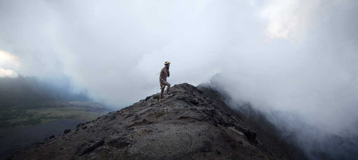 """""""We came from the volcano, and when we die we will return"""" - Albi of Yakel, Tanna Island, Vanuatu"""
