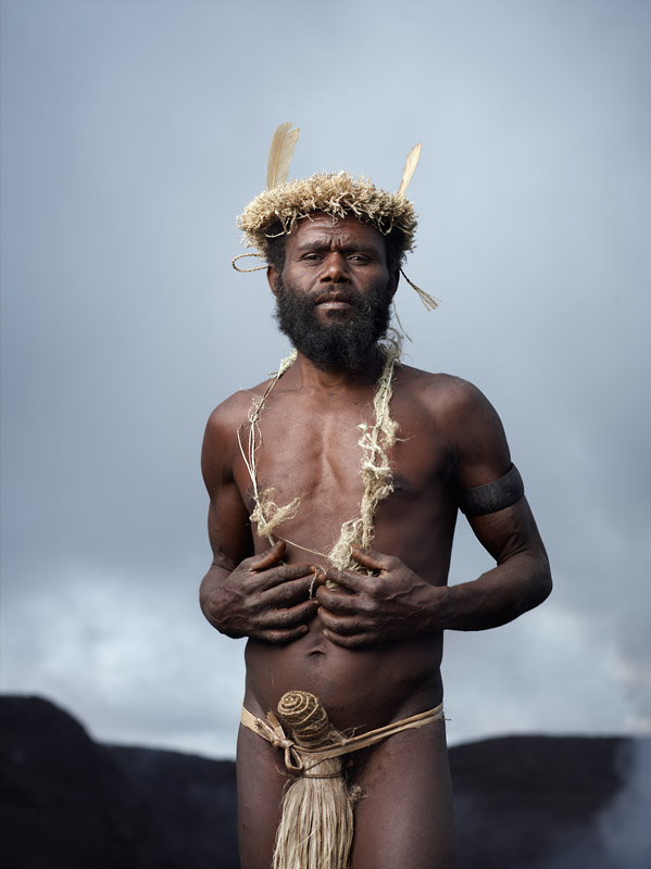 Albi has traveled to Great Britain and met Prince Philip, whom the Kastom believe is a relative. Tanna Island, Vanuatu