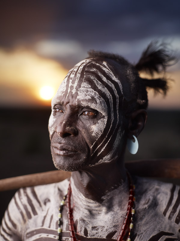 The Karo are considered one of the Omo Valley's most endangered ethnic group with an estimated population of only 1500 remaining.