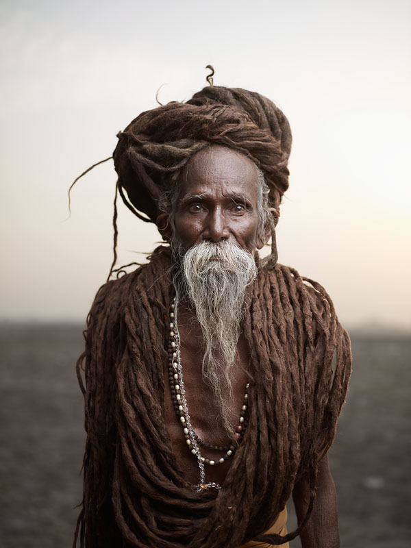 Lal Baba's life is to travel. Even at 85 years old, he will continue to travel from holy place to holy place in India and Nepal. Varanasi, India
