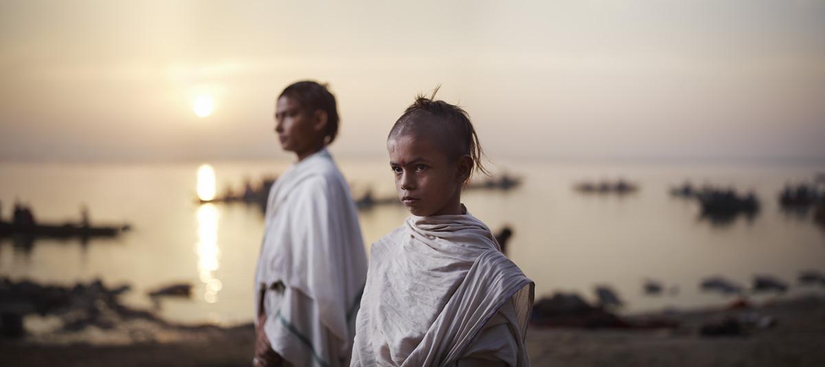Batuk Students, Varanasi, India