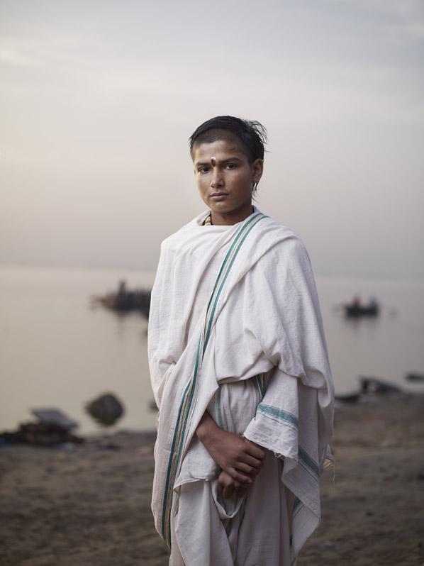 Batuk Student, Varanasi, India