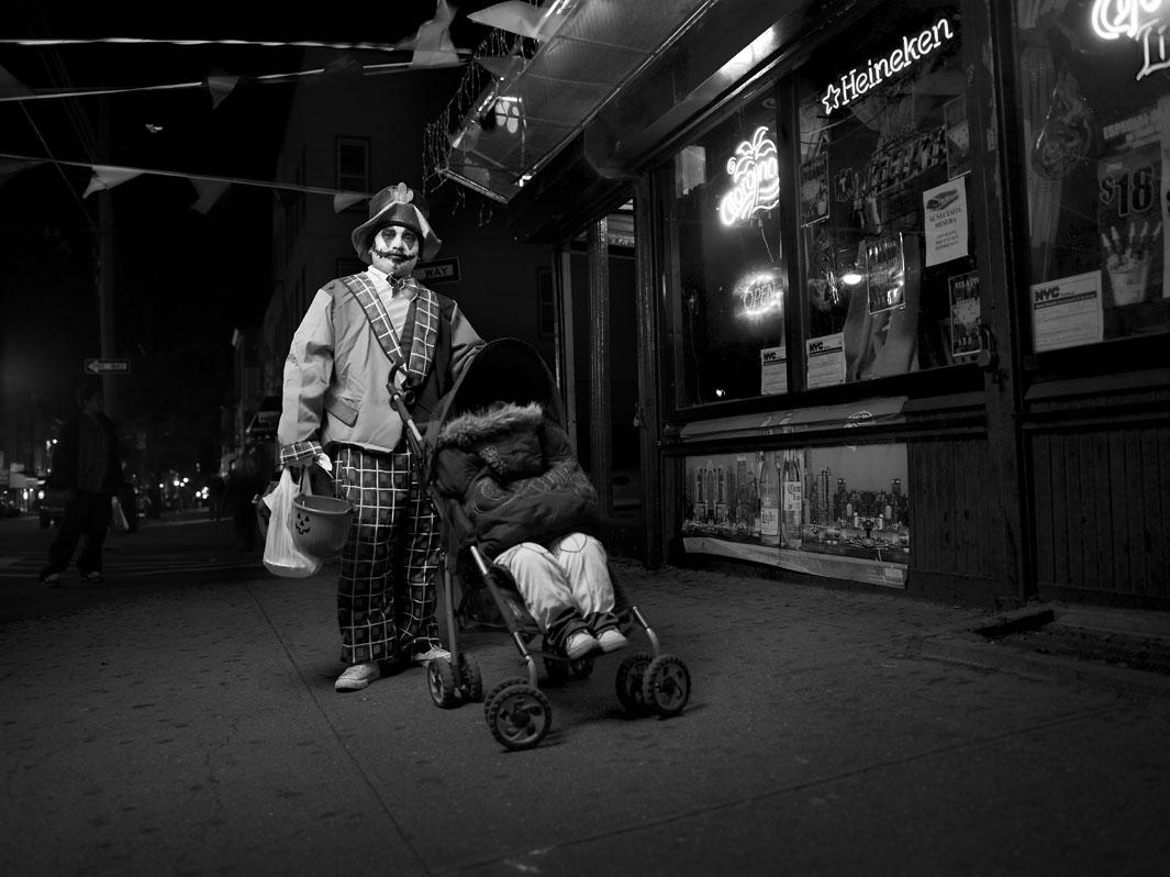 7:30pm October 31st, 2010 - Bushwick, Brooklyn